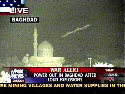 Vareta Voadora sobre Bagdad