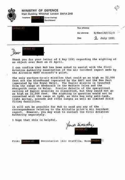 National Archives UK divulga arquivos sobre ovnis